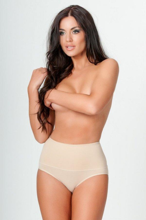 Linea Fashion 01 beige Stahovací kalhotky