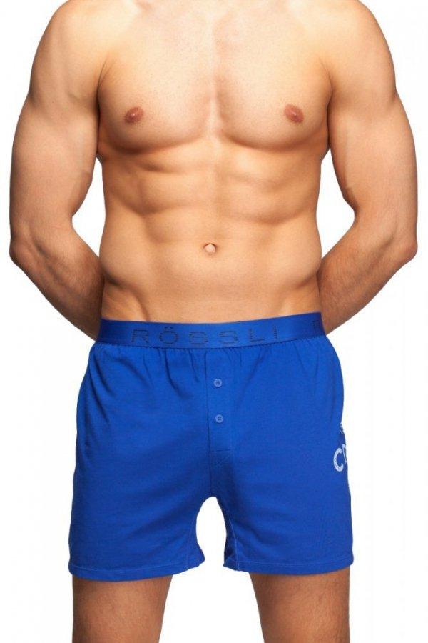 Rossli MSB-040 tmavě modrá Pánské boxerky
