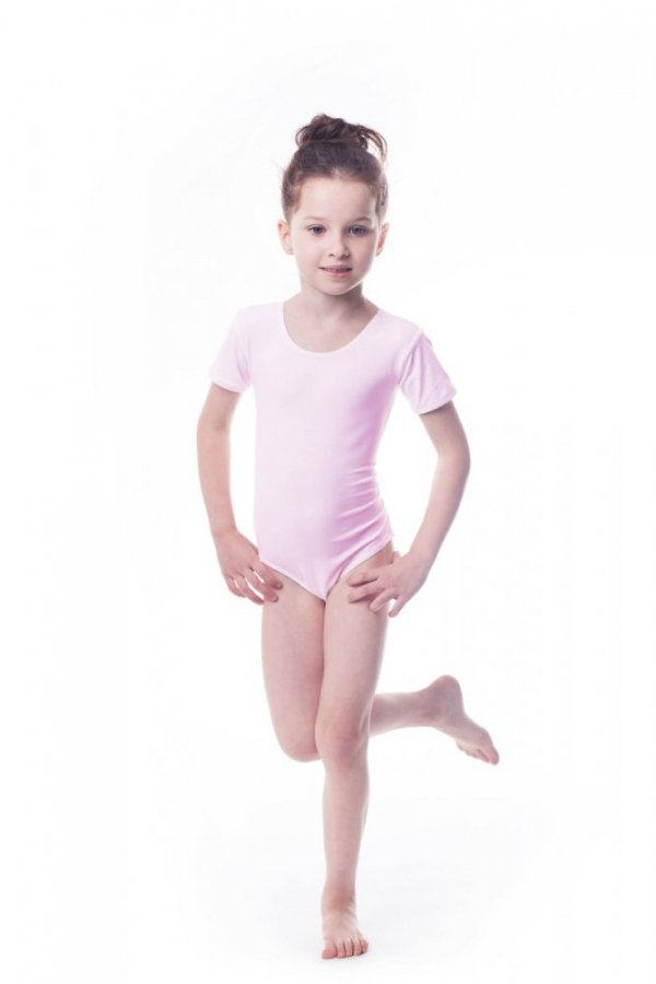 Shepa Gymnastický dres Body lycra (B15) krátký rukáv