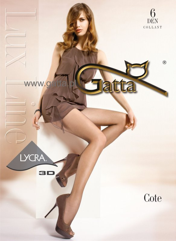 Punčocháče Gatta Cote 6 DEN