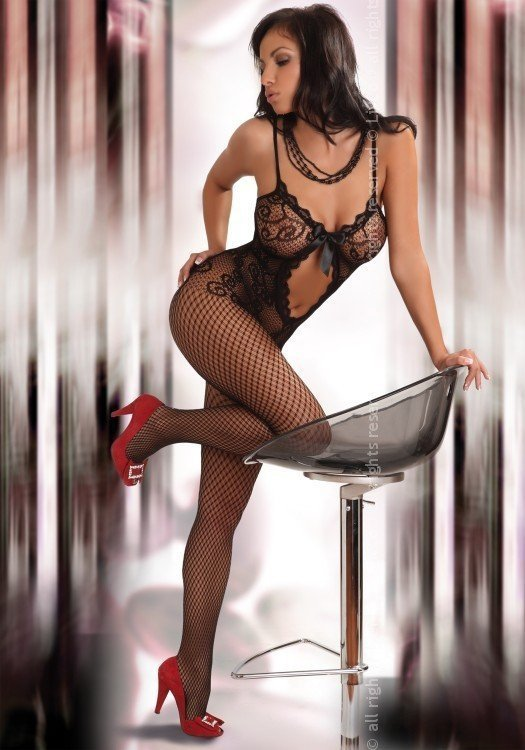 Livia Corsetti Bodystocking Magali black