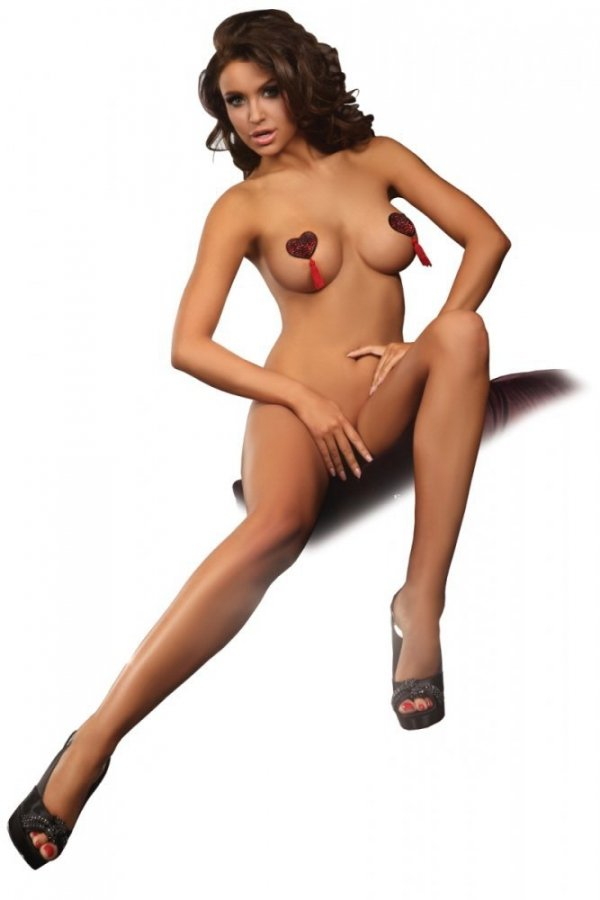 Livia Corsetti Heart Nipple Covers Model 2 Lepítka na bradavky