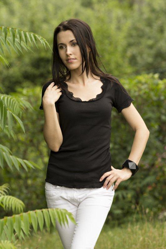 Vittoria Ventini Justine Halenka černá