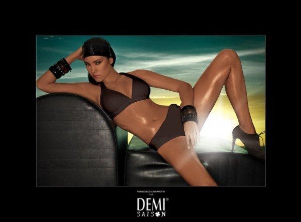 Plavky Demi Saison Lady Madonna hnědé