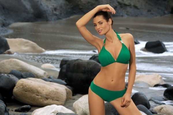 Dámské plavky Marko Lauren Acetosella M-325 zelené
