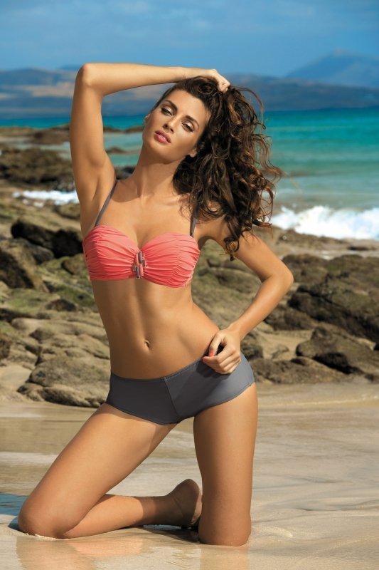 Dámské plavky Marko Tiffany Semifredo-Ardesia M-319 korálovo-šedé