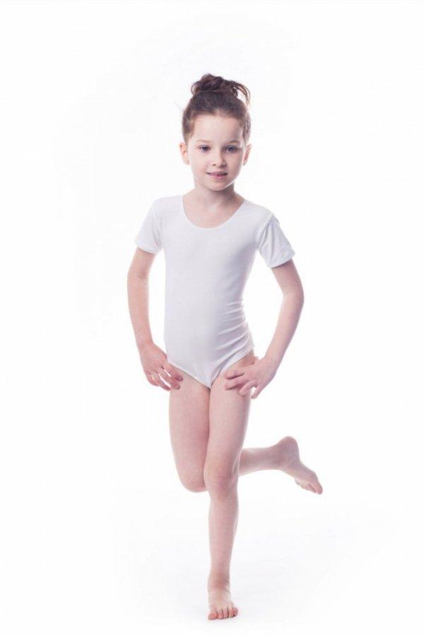 Shepa Gymnastický dres Body lycra (B7) krátký rukáv