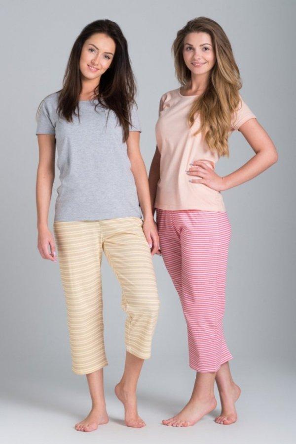 Rossli SAL-PY-035 růžové Dámské pyžamo