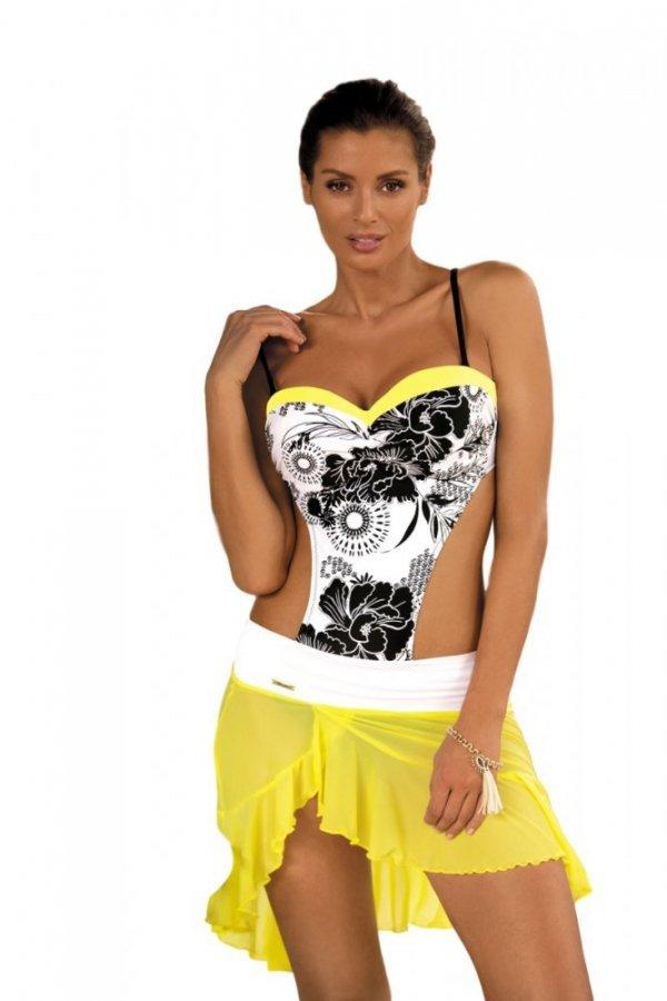 Plážová sukně Marko Kayla M-363 Lime-Bianco