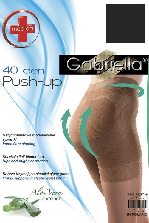 Gabriella Medica Push-up 40 Den Code 128 Punčochové kalhoty