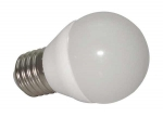 Żarówka E27 7 LED SMD 2835 6W CCD kulka zimna biała