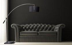 Lampa podłogowa BIANCA TS 061121F CHROME/BLACK