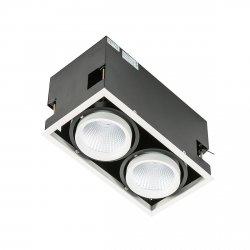 Oprawa Vertico Double GL7108-2/2X18W WH+BL