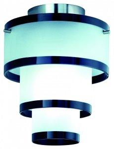 Skop - plafon 1 płomienny nikiel mat R6003-02