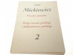 POWIEŚCI POETYCKIE 2 - Adam Mickiewicz (1982)