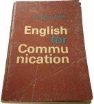 ENGLISH FOR COMMUNICATION - L. Szkutnik (1979)