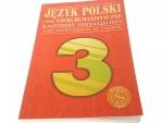 JĘZYK POLSKI I INNE NAUKI HUMANISTYCZNE 2001
