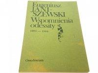 WSPOMNIENIA ODESSITY 1894-1916 - Janiszewski 1987