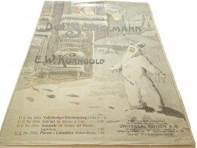 DER SCHNEEMANN. PANTOMIME IN 2 BILDERN - Korngold