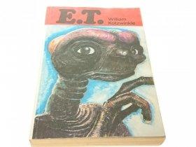 E. T. - William Kotzwinkle
