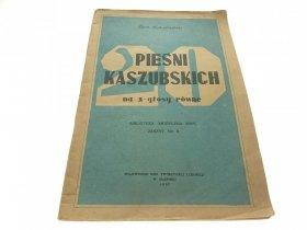 20 PIEŚNI KASZUBSKICH NA 3 GŁOSY Łukaszewski 1957