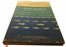 ATLAS RYBACKI MORZA PÓŁNOCNEGO - A. Klimaj (1957)