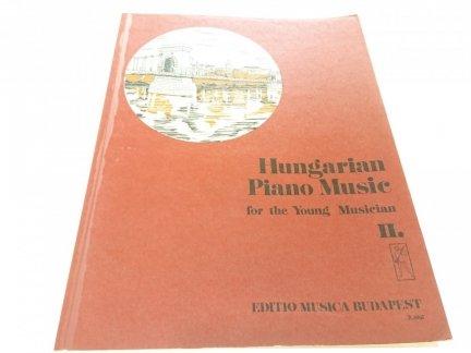 HUNGARIAN PIANO MUSIC FOR THE YOUNG MUSICIAN II