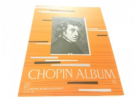 CHOPIN ALBUM II ZONGORARA - FUR KLAVIER - PIANO