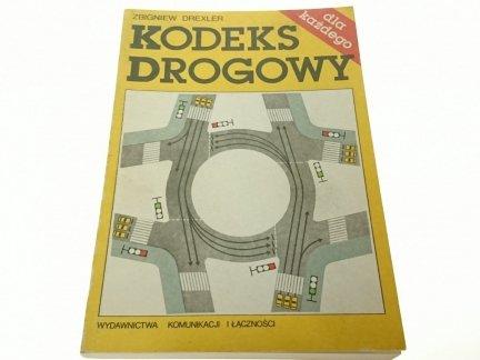 KODEKS DROGOWY - Zbigniew Drexler