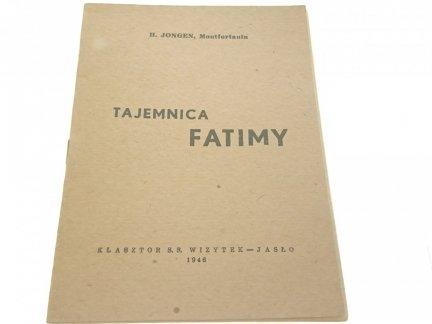 TAJEMNICA FATIMY - H. Jongen