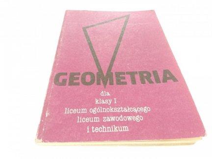 GEOMETRIA DLA KLASY I LO, LICEUM ZAWODOWEGO 1987