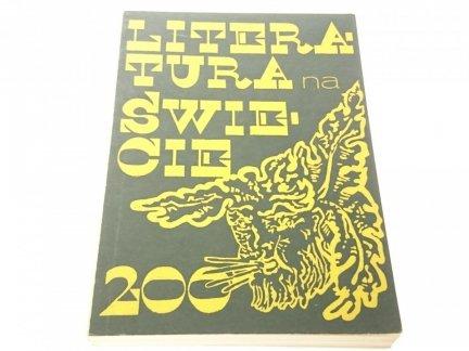 LITERATURA NA ŚWIECIE MARZEC 1988 NR 3