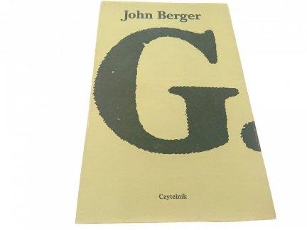 G. - John Berger (1987)