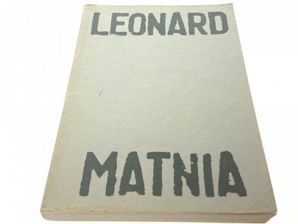 MATNIA - LEONARD Wydanie II 1988 r.
