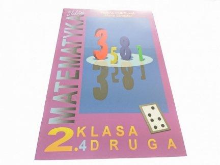 BŁĘKITNA MATEMATYKA KLASA DRUGA ZESZYT 4 (1999)