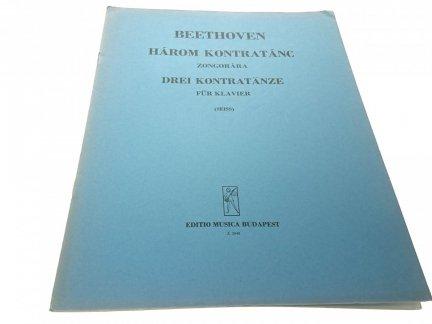 BEETHOVEN HAROM KONTRATANC ZONGORARA