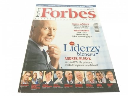 FORBES BIZNES Z KAŻDEJ STRONY 09/2010