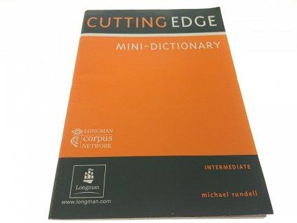 CUTTING EDGE MINI+DICTIONARY INTERMEDIATE