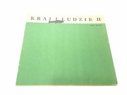 KRAJ I LUDZIE (16 kart w obwolucie) - J. Barbag