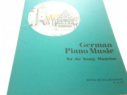 GERMAN PIANO MUSIC FOR THE YOUNG MUSICIAN