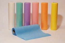 Serwety stomatologiczne - bibułowo foliowe 33x48 cm - błękitne