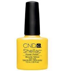 CND Shellac Bicycle Yellow - 7,3 ml
