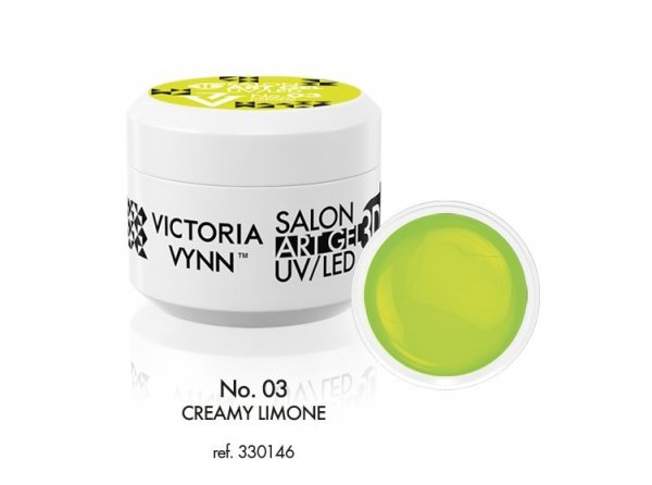 Victoria Vynn Art Gel - No.03 Creamy Limone 5 ml