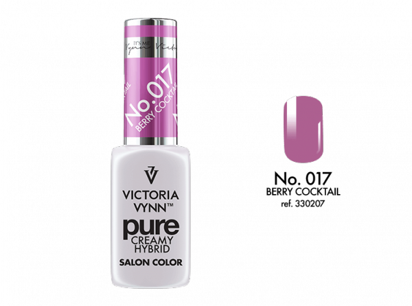 Victoria Vynn Pure Color - No.017 Berry Cocktail  8 ml