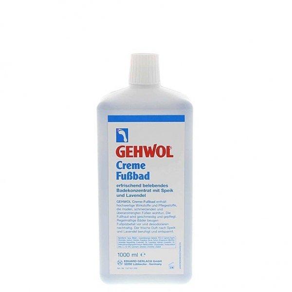 Gehwol Creme-Fussbad - Płyn do kąpieli stóp z lawendą - 1000ml
