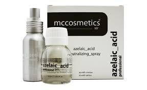 MCCosmetics - kwas azelainowy 25% pH 1,3 30ml + neutralizator 50ml