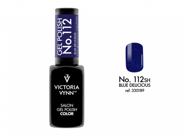 Victoria Vynn Gel Polish Color - Blue Delicious No.112 8 ml