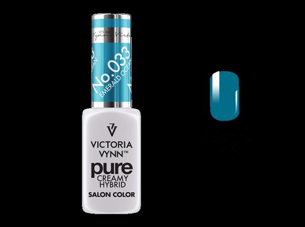 VICTORIA VYNN PURE COLOR - No.033 Emerald Ocean 8 ml