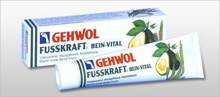 Gehwol - Fusskraft - Bein-Vital - Balsam witalizujący do stóp - 125 ml