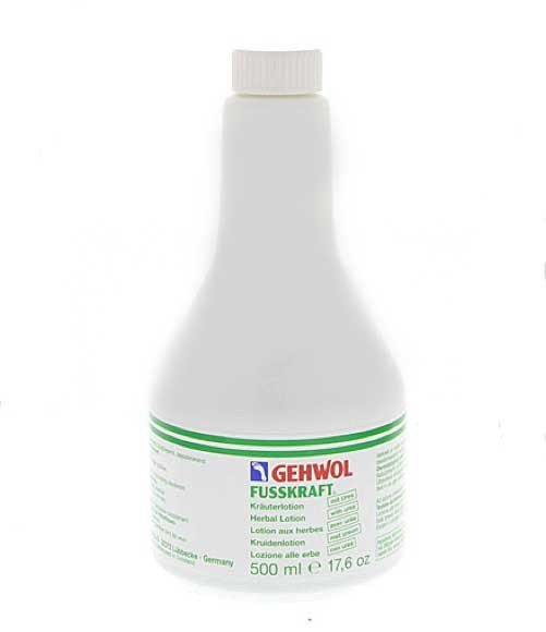 GEHWOL - FUSSKRAFT KRAUTERLOTION - Lotion ziołowy do dezynfekcji skóry stóp - 500ml